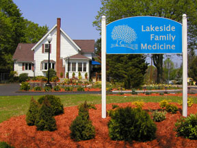 Lakeside Entrance Sign